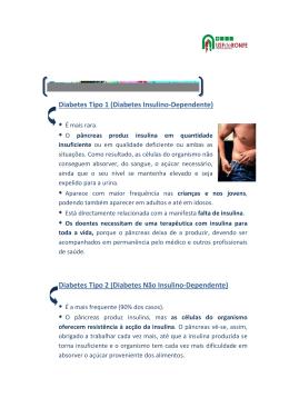 Diabetes Tipo 1 (Diabetes Insulino