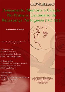 Programa e Inscrição - CEFi - Universidade Católica Portuguesa