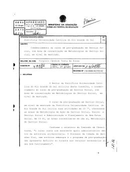 """Conforme o relatório da Comissão de Cônsul. tores, """"o curso conta"""