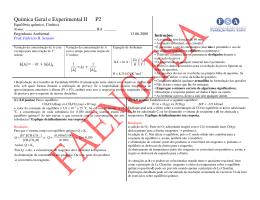 P2 1 o Sem/2008 (c/ resolução)