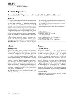 Câncer de próstata - Revista |HUPE