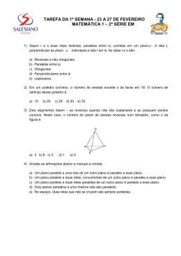 Questões de Matemática 1