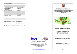 Folder do curso