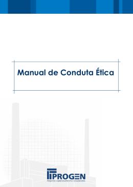 Manual de Conduta Ética