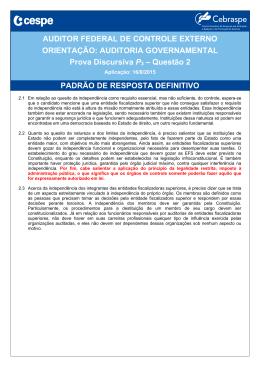 Padrão de resposta DEFINITIVO - P3 - Questão 2
