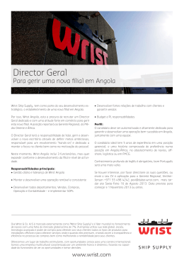 Director Geral - Wrist Ship Supply