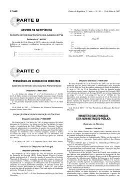 Declaração nº 96/2007