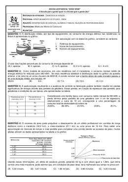 EF01 Interpretação de gráficos e tabelas