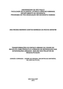Tese Ana Regina Marinho - versão corrigida
