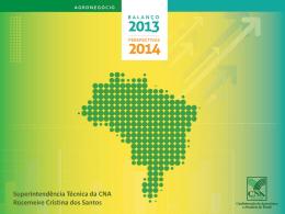 Superintendência Técnica da CNA Rosemeire Cristina dos Santos