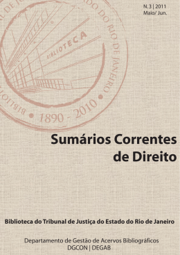 Sumários Correntes de Direito - Portal de Aplicações do Tribunal de