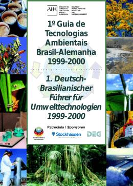 1º Guia de Tecnologias Ambientais Brasil-Alemanha 1999