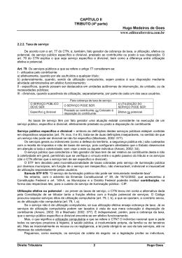 Taxa de serviço - Editora Ferreira