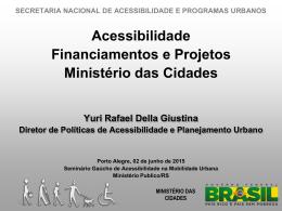 Ministério das Cidades - urbe