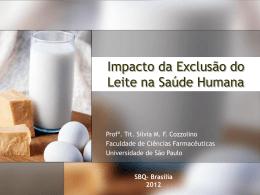 Impacto da Exclusão do Leite na Saúde Humana