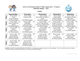 Centro de Educação Infantil A Mão Cooperadora – Piraquara