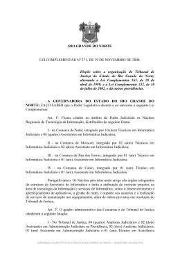 Lei Complementar 371 - Assembleia Legislativa do Rio Grande do