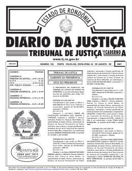 24 - Tribunal de Justiça de Rondônia