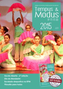 Tempus & - Escola Portuguesa de Macau