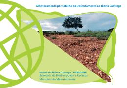 Monitoramento por Satélite do Desmatamento no Bioma Caatinga