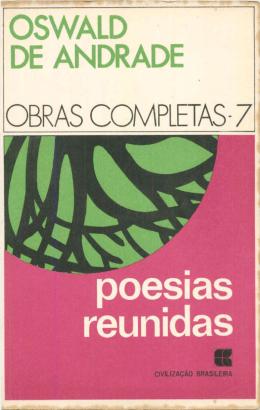 Obras completas, vol. 7. Poesias reunidas