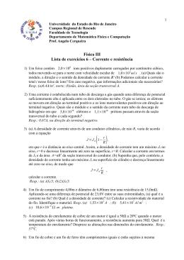 Lista 6 - Física III