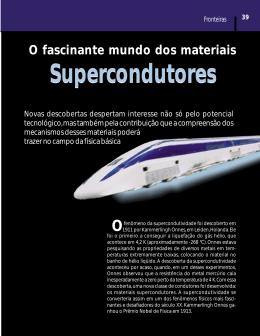 Supercondutores Supercondutores - Universidade Federal de São