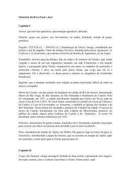 Glossário - Universidade das Quebradas