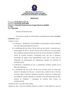 DESPACHO Processo: 00190.026811/2007