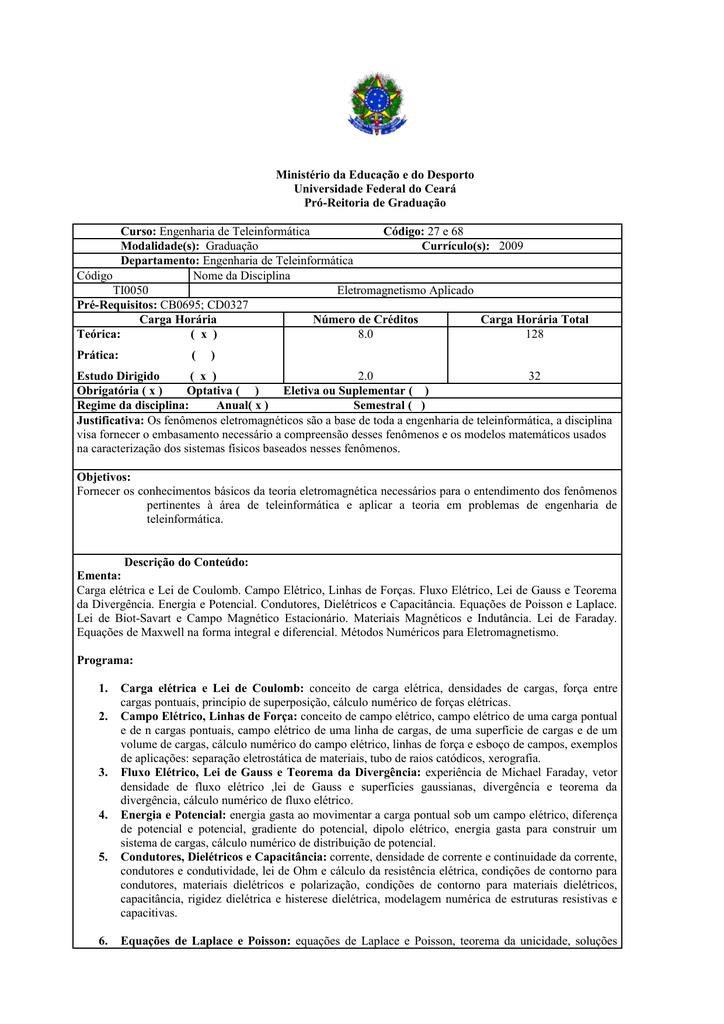 TI0050 - Coordenadores - Universidade Federal do Ceará