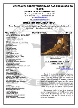 outubro - capeladourada.com.br