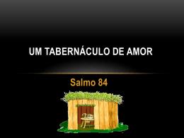 o tabernáculos do amor