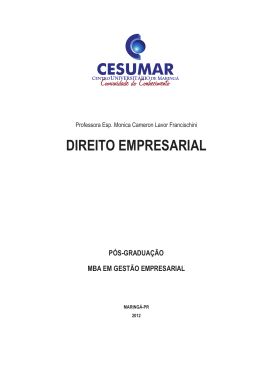 EDIT-base2012 - GEM - Direito Empresarial.indd