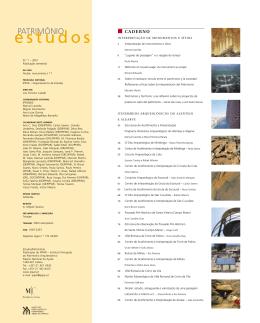 estudos - Direção Geral do Património Cultural