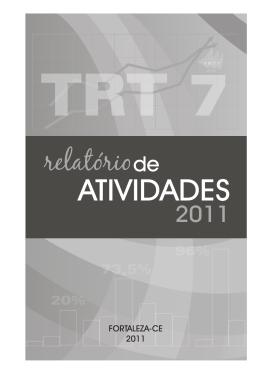 2011 - Tribunal Regional do Trabalho 7ª Região