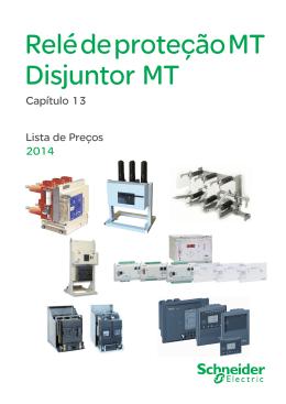 Capítulo 13 - Relé de proteção MT Disjuntor MT
