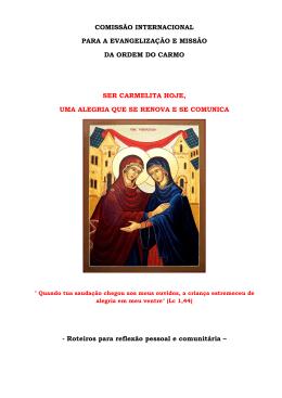 Espiritualidade Carmelitana (1)
