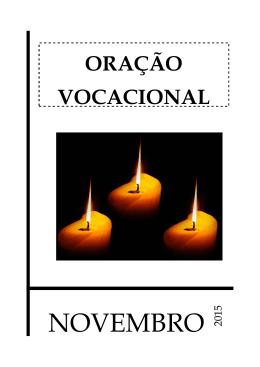 Fazer da Oração Vocacional de Novembro