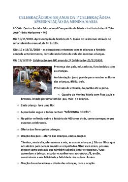 LOCAL- Centro Social e Educacional Companhia de Maria