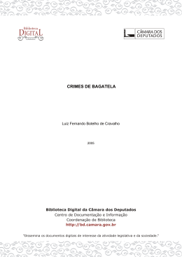 diretoria legislativa - Biblioteca Digital