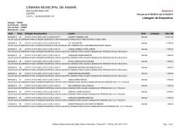 CÂMARA MUNICIPAL DE ANAMÃ
