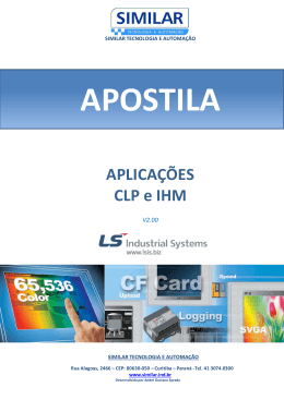 Apostila CLP e IHM Aplicacoes V2.00