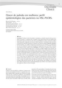 pdf - Sociedade Brasileira de Oncologia Clínica