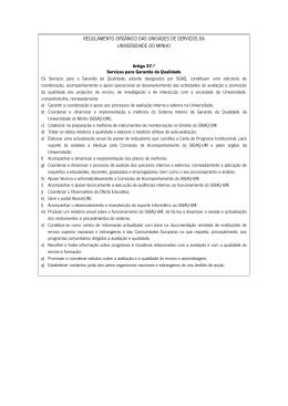 Despacho_RT-49/2010: Regulamento_Orgânico das Unidades
