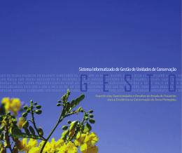 Sistema Informatizado de Gestão de Unidades de Conservação