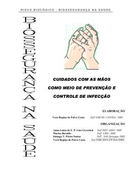 Assepsia das mãos - riscos biológicos