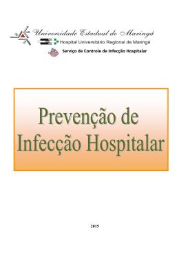 Rotina de Prevenção de Infecção Hospitalar