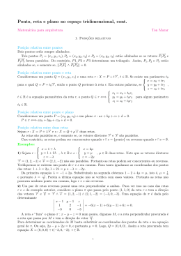 Geometria analítica 2