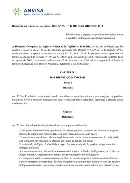 Resolução da Diretoria Colegiada - RDC Nº 55, DE 16 DE
