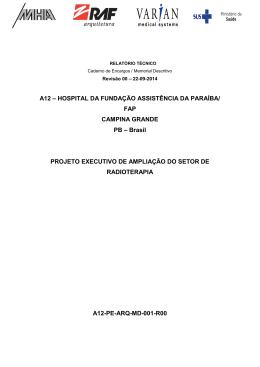 A12 – HOSPITAL DA FUNDAÇÃO ASSISTÊNCIA DA PARAÍBA/ FAP